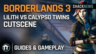 Borderlands 3 - Lilith vs Calypso Twins Story Cutscene