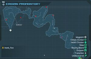 Map EridianPromontory