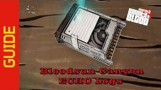 Bloodsun Canyon ECHO Logs