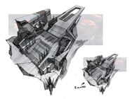 Borderlands2 jacks fortress environment building layout study by kevin duc
