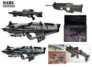 Borderlands2 weapon dahl exploration by kevin duc