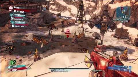 Borderlands 2 Double Vermivorous spawn! (Force Spawn)