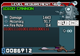 Eridian 10100 Cannon