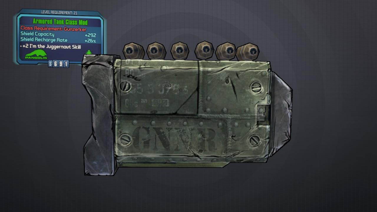 Tank (class mod) | Borderlands Wiki | FANDOM powered by Wikia