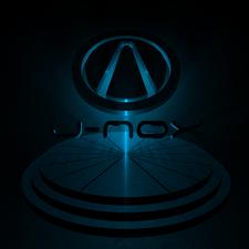 J-nox designs logo blue