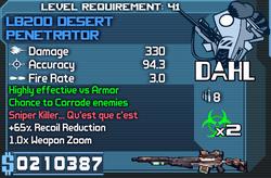 LB20D Desert Penetrator