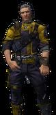 BL2-Axton-Tenue-L'homme au pistolet dort