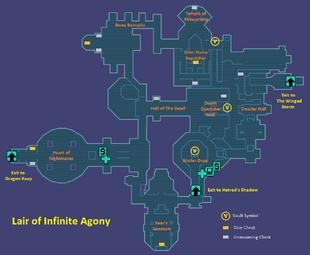 Lair of Infinite Agony   Borderlands Wiki   FANDOM powered