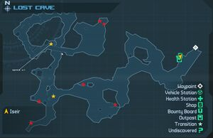 Map Thelostcave