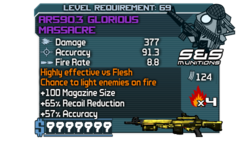 AR590.3 Glorious Massacre-kmc