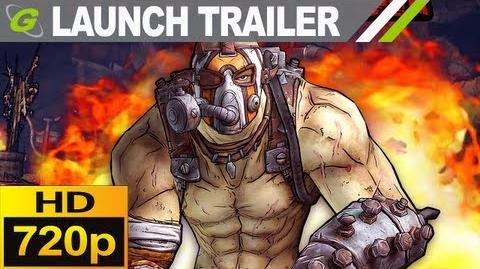 Borderlands 2 Krieg the Psycho Launch Trailer HD 720p