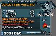 Hard volcano 34