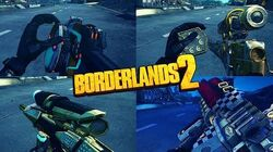 Borderlands 2 - All Epic Weapon Reload Animations in 2 minutes