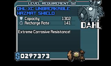 DHL-XC Unbreakable Hazmat Shield