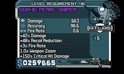 GGN40 Pearl Sniper