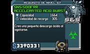 SnS-500FRR Accelerated Acid Burst Shield
