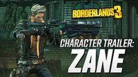 "Borderlands 3 - Zane Character Trailer ""Friends Like Zane"""