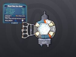 LV 29 Winged Shock Nova Shield
