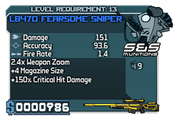 LB470 FearsomeSniper