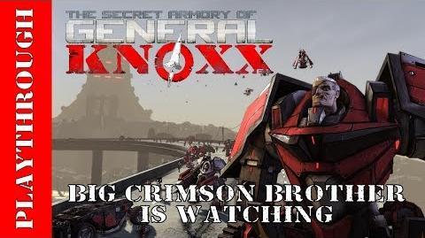 Big Crimson Brother is Watching