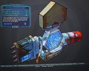 Borderlands 2 здаровый щит (20) син