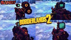 Borderlands 2 - Epic Bandit Weapons - Animations & Sounds w Slow Motion