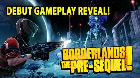 Borderlands The Pre Sequel! - Debut Gameplay Reveal - Moon Gravity Action
