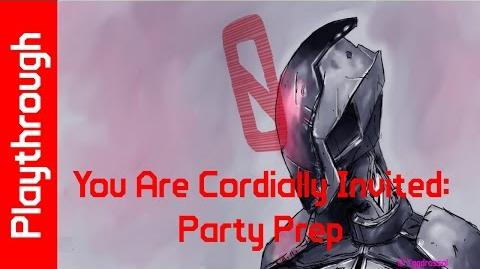 You Are Cordially Invited Party Prep