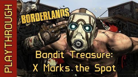 Bandit Treasure X Marks the Spot