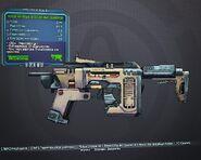 Borderlands качественный парозитный пулемёт (35) зелёный