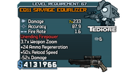 EQ11 Savage Equalizer