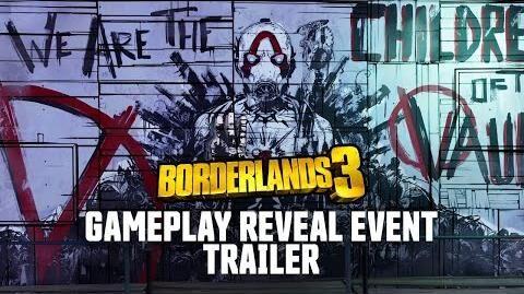 Borderlands 3 Раскрывающий игровой процесс трейлер