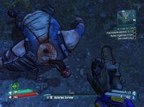 Dead raging Goliath