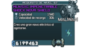 MLN-5XC Impenetrable Shock Nova Shield