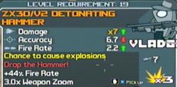 V2 detonating hammer