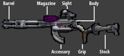 Eridian gun parts