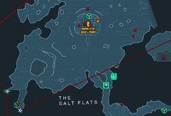 Salt flats crate locations
