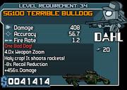34 SG100 Terrible Bulldog