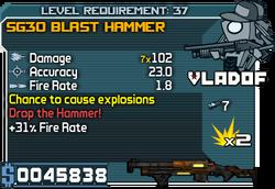 SG30 Blast Hammer 37