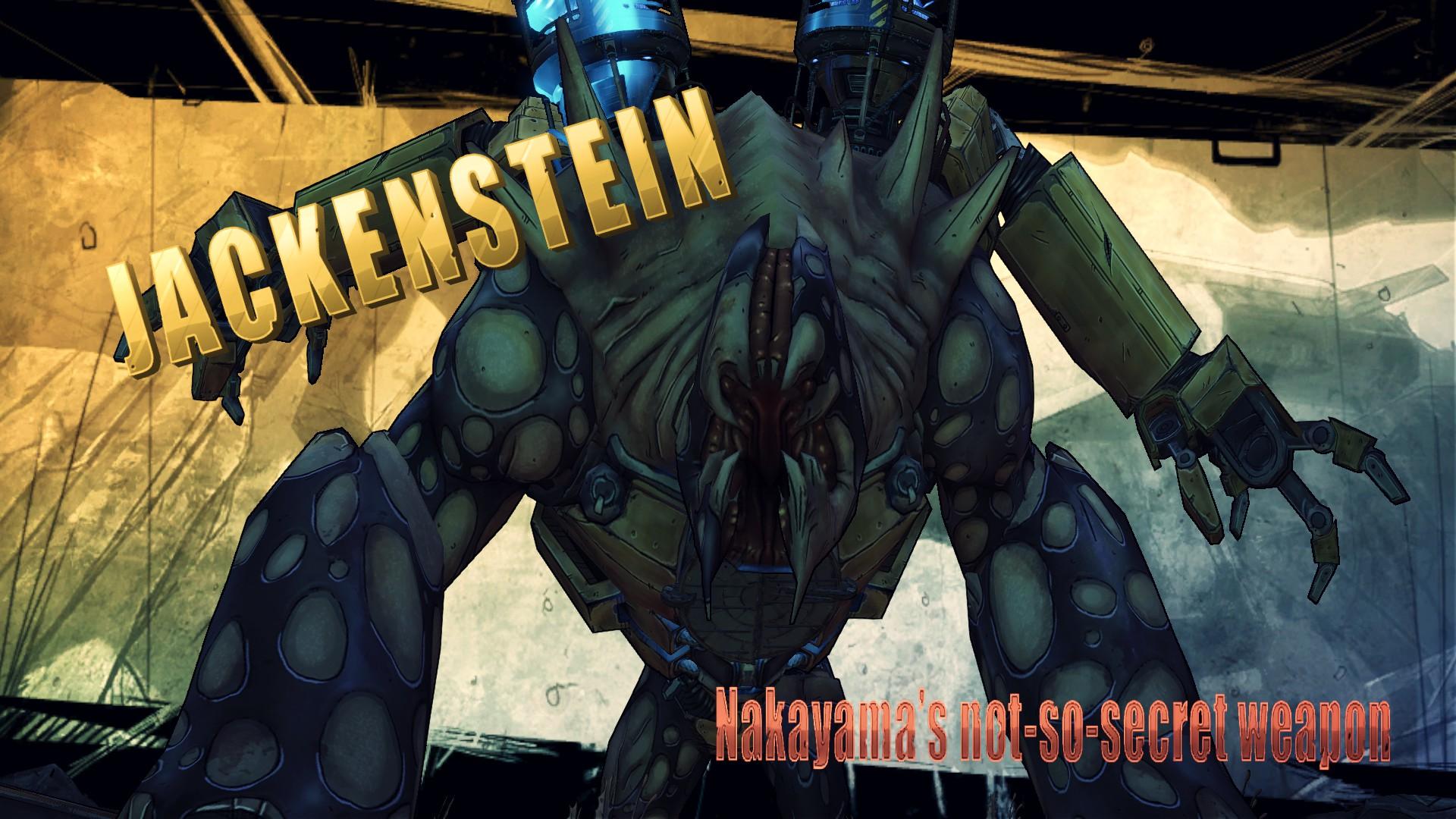 Borderlands 2 can't kill jackenstein