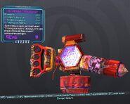 BorderlandsPreSequel недовольный стероидный щит (30) фиолетовый