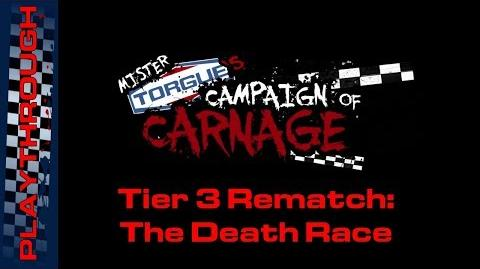 Tier 3 Rematch The Death Race