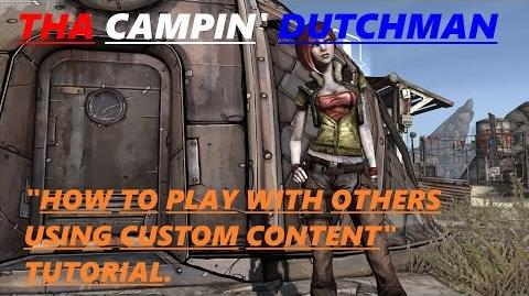 """Borderlands """"How to play with others using custom content"""" TUTORIAL"""