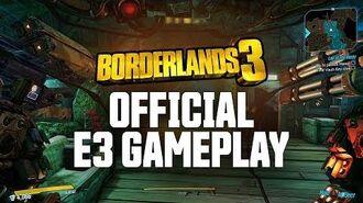 Borderlands 3 - Official E3 Gameplay Demo