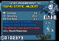 TD240 Static Wildcat