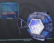 BorderlandsPreSequel адаптивный щит (27) синий