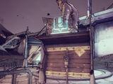 Доска объявлений под статуей Джека