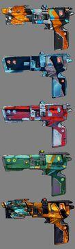 Maliwan Pistols Range 2