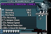 PPZ470.G Crimson Lance happypal