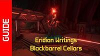 Blackbarrel Cellars Eridian Writings